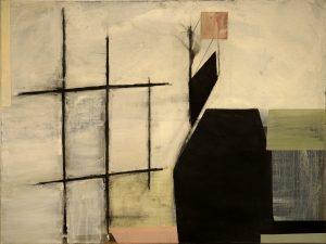 For no particular reason, eggtempera on canvas, 60 x 90 cm