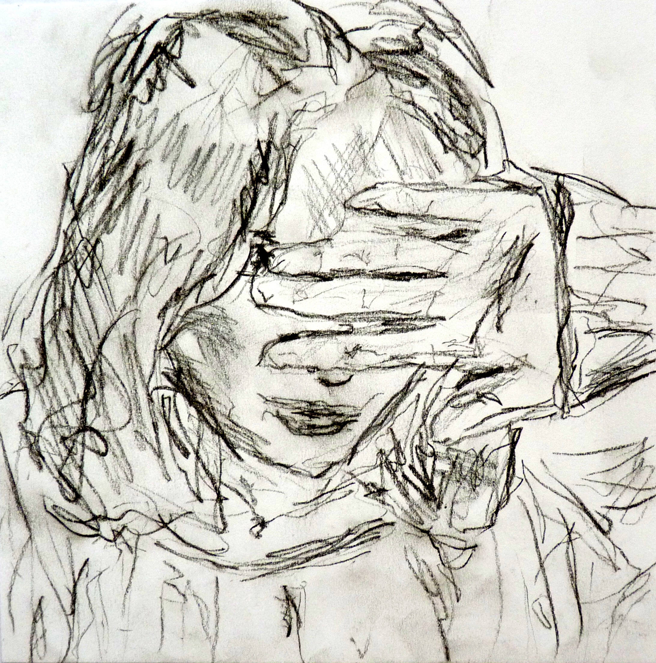 sketch, graphite on paper, 15 x 15 cm